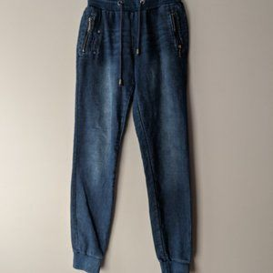 ONLY Spice Jogger Pant Stretch Denim Size Small